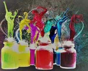 arteterapia danza di colori