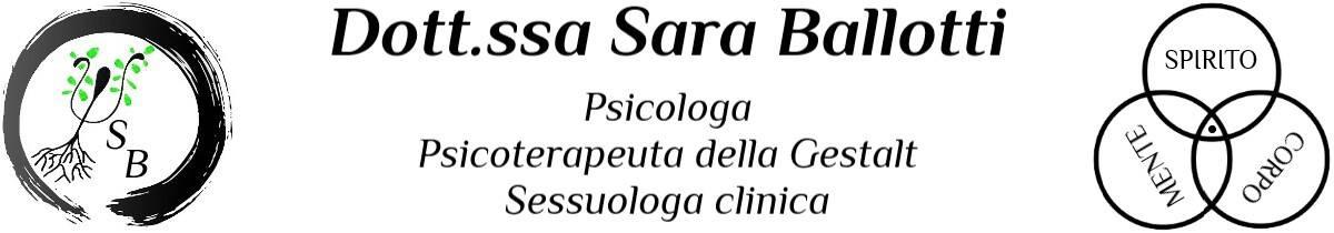 Sara Ballotti header